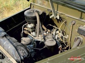 Нижнеклапанный 6-цилиндровый карбюраторный мотор с дизельными характеристиками