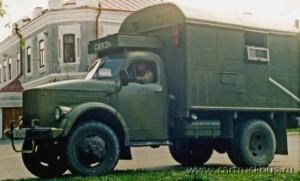 Фургон «Связь» на шасси двухскатного ГАЗ-63. Город Камень-на-Оби Алтайского края, 2006 год.