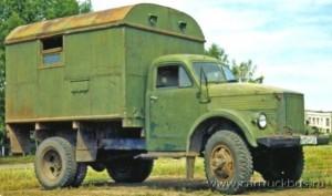 «Многоцелевой» фургон на шасси двухскатного ГАЗ-63 1963 года выпуска, находящийся в частном владении. Село Чистюнька, Алтайского края. 2007 год.
