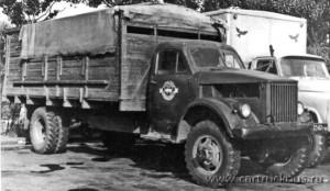 Длиннобазный вариант с шинами 8,25-20 и, судя по всему, двигателем повышенной мощности – творение автомастерских треста «Скотооткорм». Москва, конец 1960-х годов.