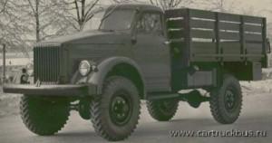 Выставочный ГАЗ-63 был украшен хромированными ободками фар, подфарников и даже колесными гайками.