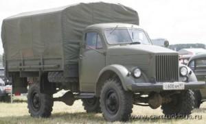 Полноприводный грузовой автомобиль ГАЗ-63
