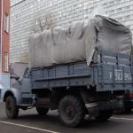 Снято 15.11.2005 Москва, улица Щепкина, территория больницы МОНИКИ. ГАЗ-63, на ходу и в очень приличном состоянии.