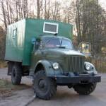 Вот такой ГАЗ-63 я сфотографировал в г. Приморск Ленинградской области. По-моему, состояние очень приличное.