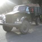 Отреставрированный ГАЗ-63 в Эстоний