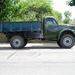 Такой ГАЗ-63 с кузовом от ГАЗ-93 попался