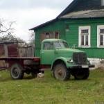ГАЗ-63 - огромная редкость!!! Это, кстати, не призрак (даже номера есть). Скорее всего на ходу.