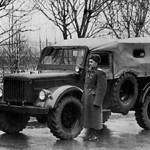 Опытный ГАЗ-62 ,так и не увидевший серийного производства