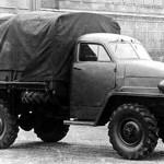"""Опытный образец ГАЗ-63,с ярко выраженными чертами """"Студебеккера"""" В угоду выпуска этой модели,ГАЗ-62 так и не пошёл в серию."""
