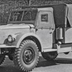 ГАЗ 68. 1948-1949 года.