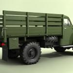 ГАЗ 63 сзади