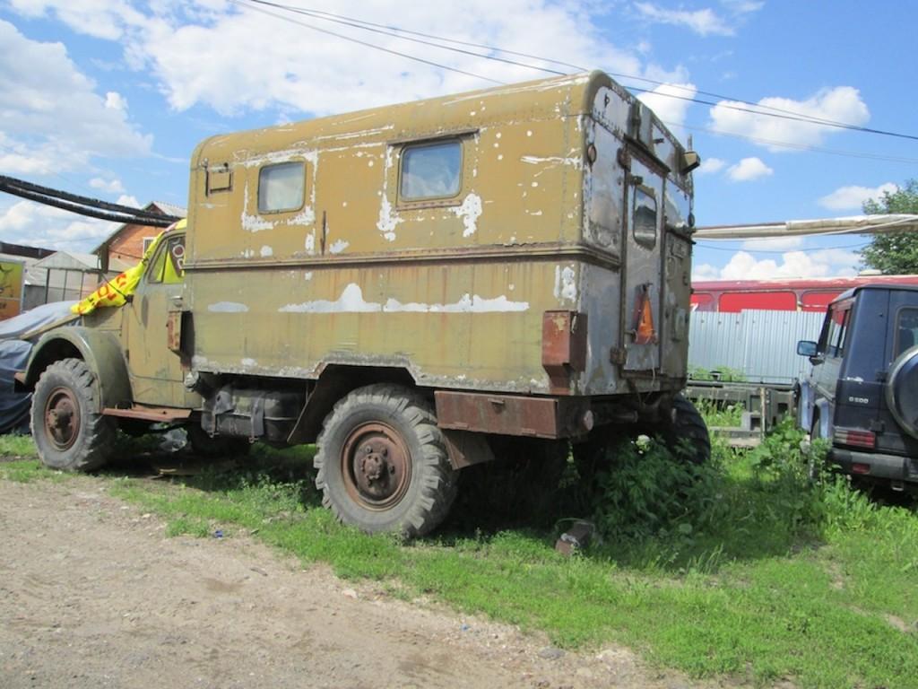 ГАЗ-63 на Путилке (Москва)