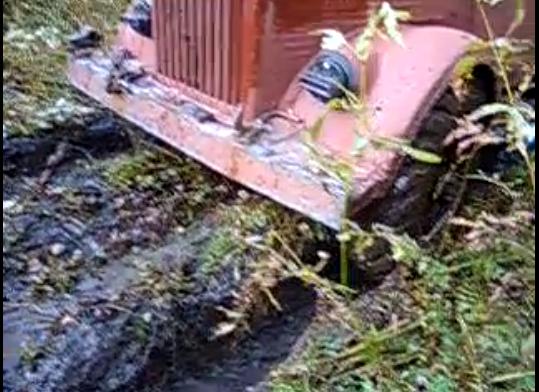 ГАЗ 63 и грязюка