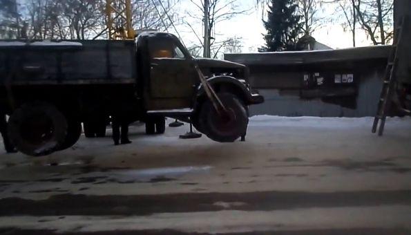 Транспортировка ГАЗ 63