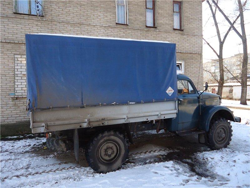 ГАЗ-63. Воронеж.