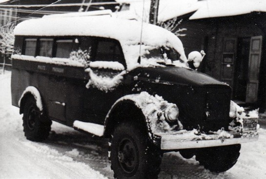 ГАЗ-63 милиции СССР