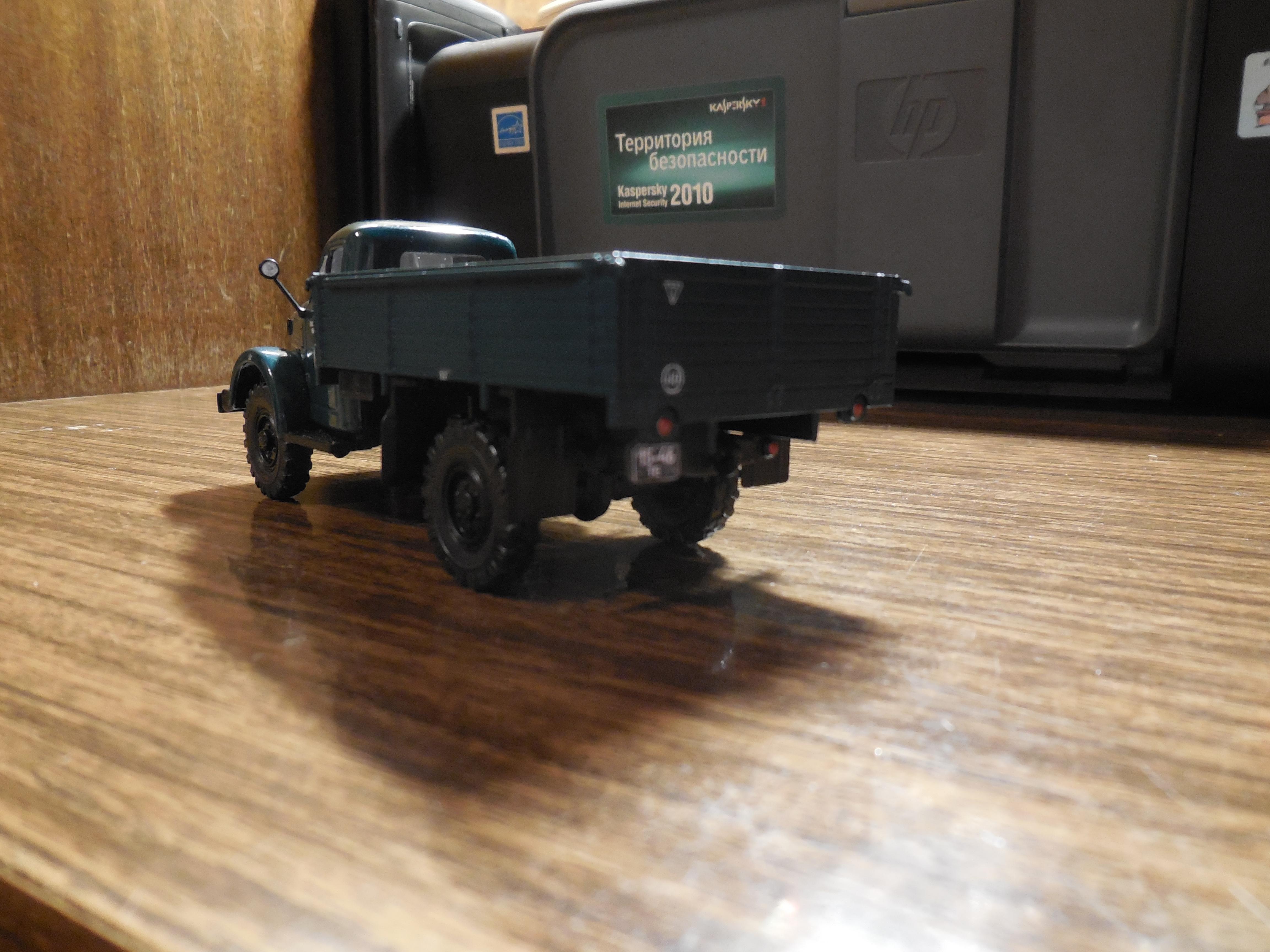 Мини модель ГАЗ 63