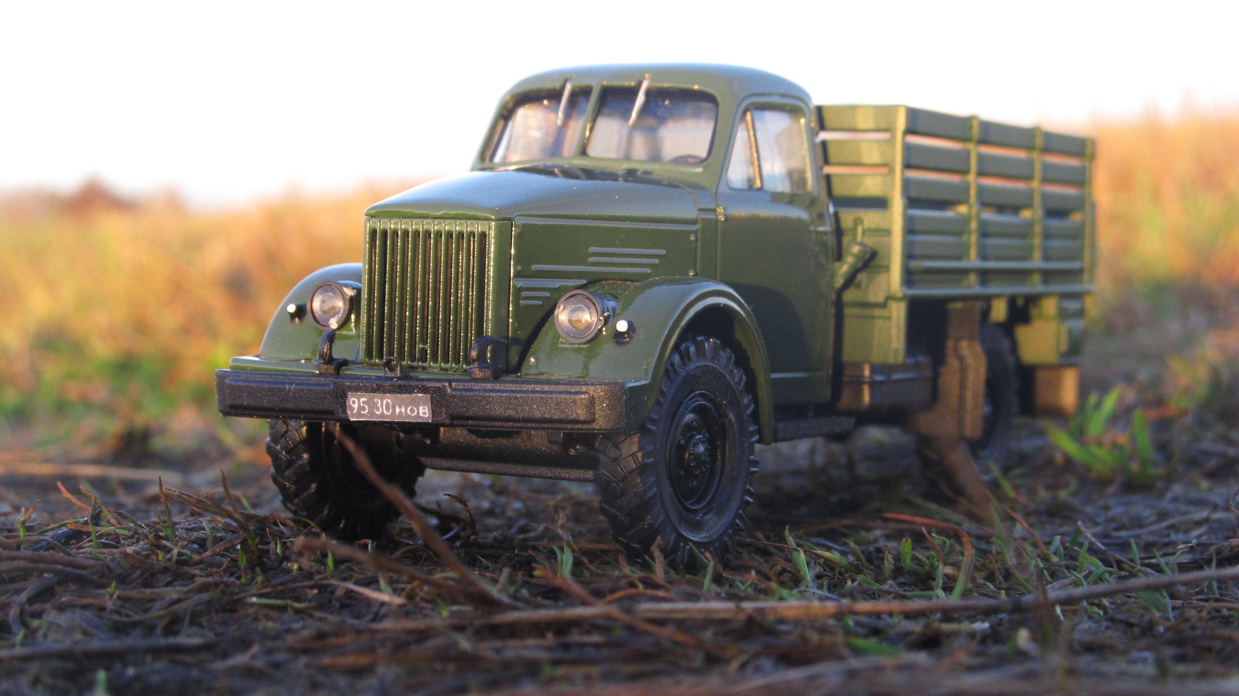 Модель ГАЗ-63 фото Tото Весёлкин