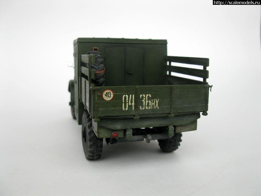 Самодел 1/35 ГАЗ-63 ПСГ-65