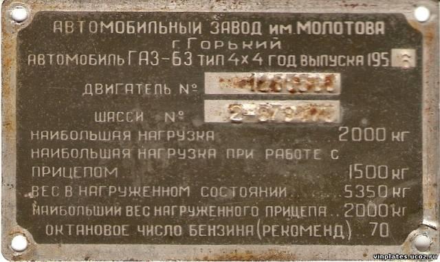 ГАЗ 63 1956 г.в.