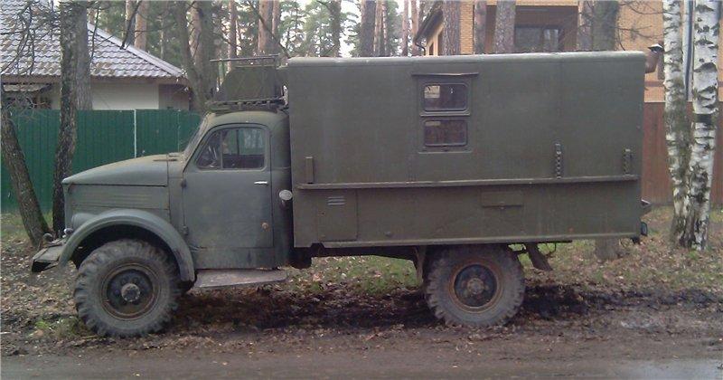 ГАЗ 63 кунг