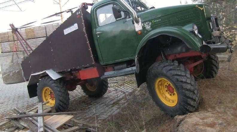 ГАЗ-63 за работой