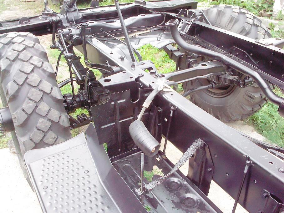 Восстановление ГАЗ 63 (бездорожник)