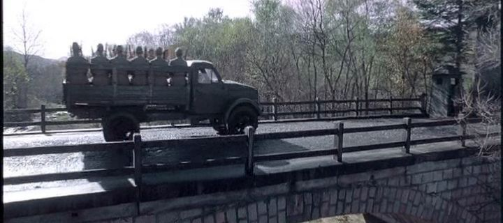 """ГАЗ-63 в кино """"Во имя чести"""""""