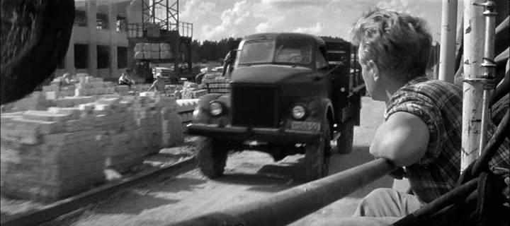 """ГАЗ 63 в фильме """"Алёшкина Любовь"""", 1960 год"""