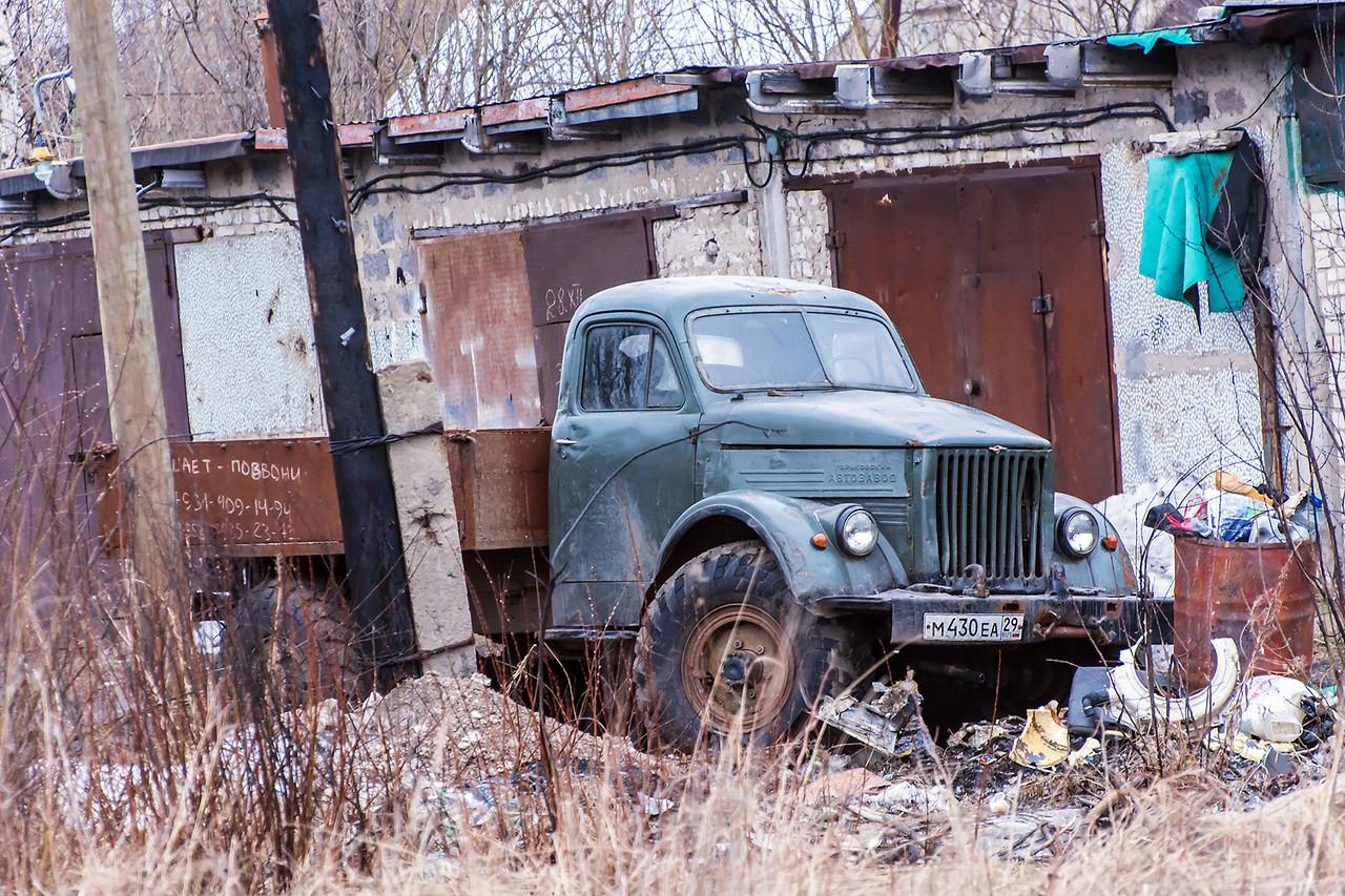 ГАЗ-63 на фотографии 2015 года