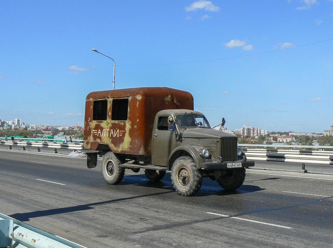 ГАЗ-63, Барнаул, Новый обской мост, 24 августа 2007 г.