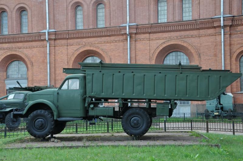 ГАЗ-63 в музее артиллерии