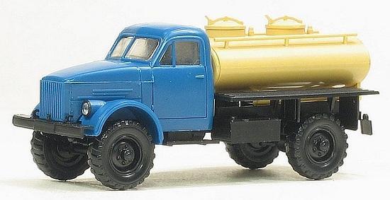 GAZ-63 4X4 ACTP-18 milk tank truck